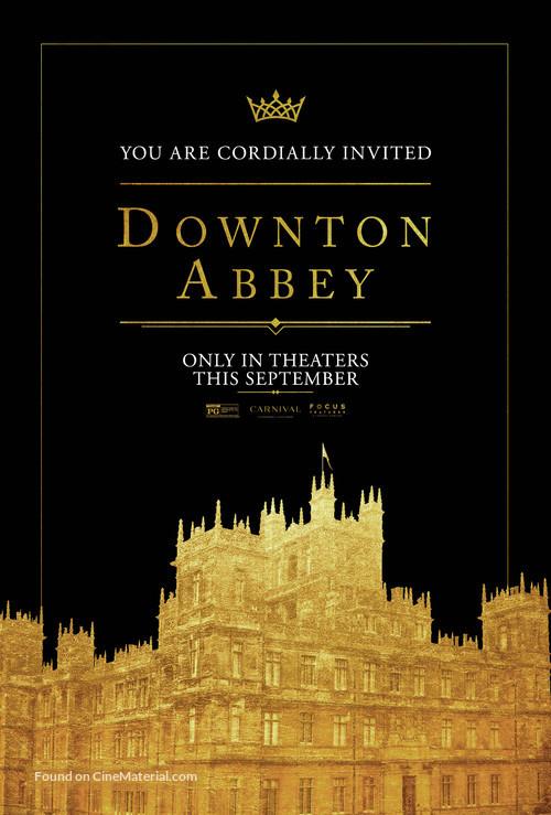 Downton Abbey - Movie Poster