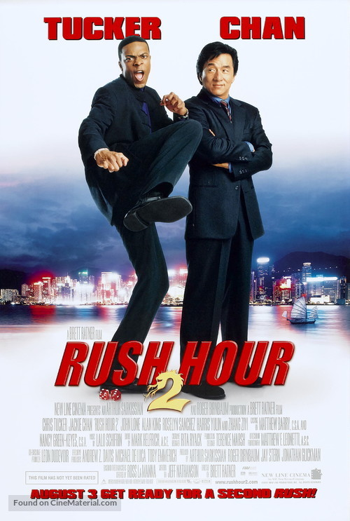 Rush Hour 2 - Movie Poster
