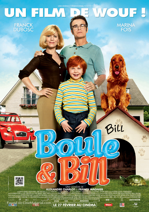 Boule et Bill - French Movie Poster