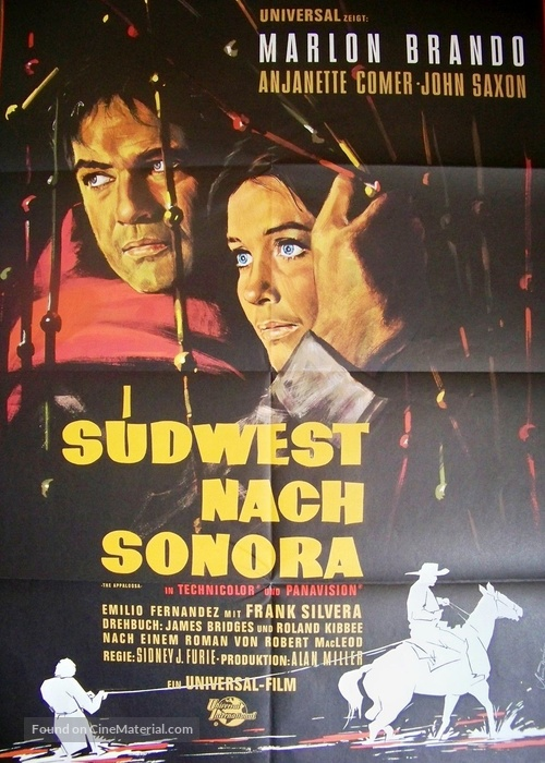 The Appaloosa - German Movie Poster