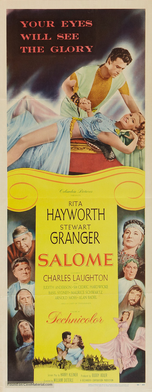 Salome - Theatrical movie poster