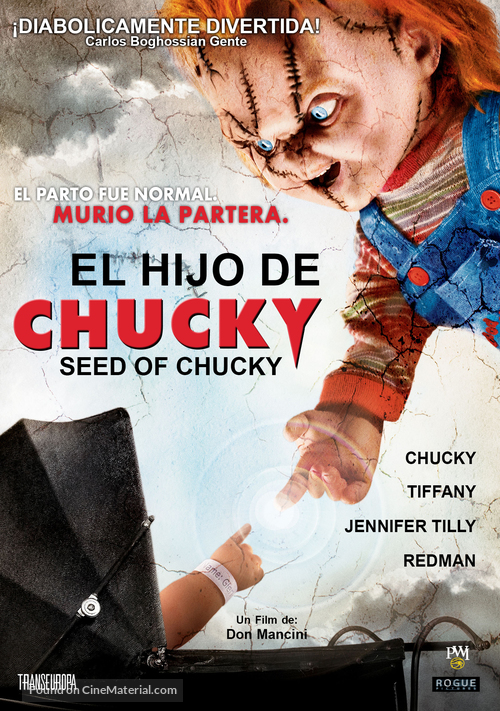 Seed Of Chucky - Argentinian Movie Cover