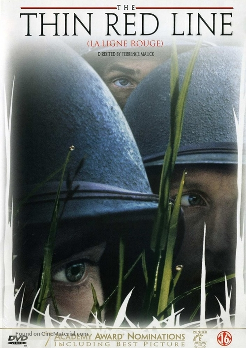 The Thin Red Line - Dutch DVD movie cover