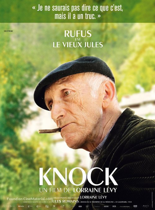 Knock - French Movie Poster
