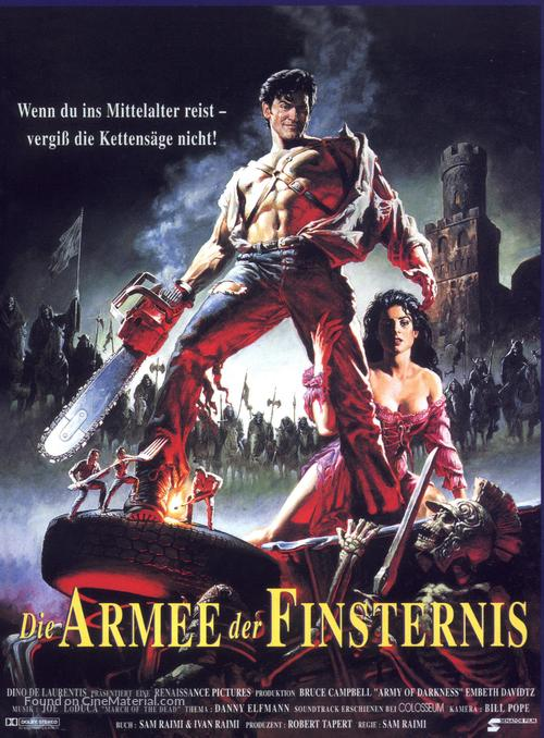 Army Of Darkness - German Movie Poster