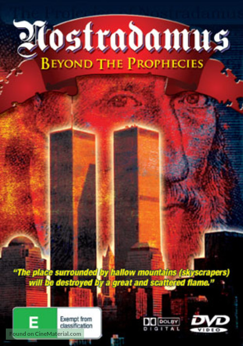 Nostradamus: Beyond the Prophecies Australian movie cover