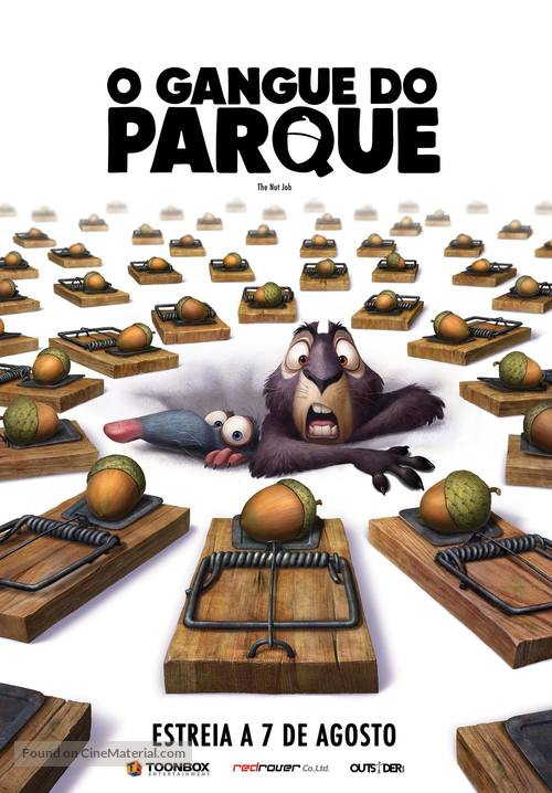 The Nut Job - Portuguese Movie Poster