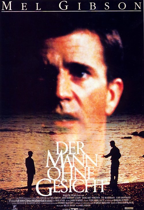 The Man Without a Face - German Movie Poster