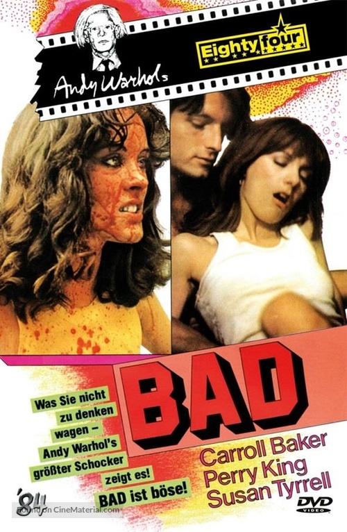 Bad - German DVD cover