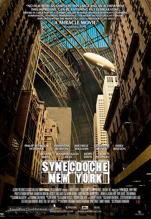Synecdoche, New York - Theatrical poster