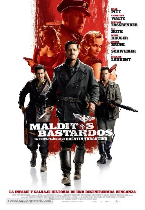 Inglourious Basterds - Spanish Movie Poster