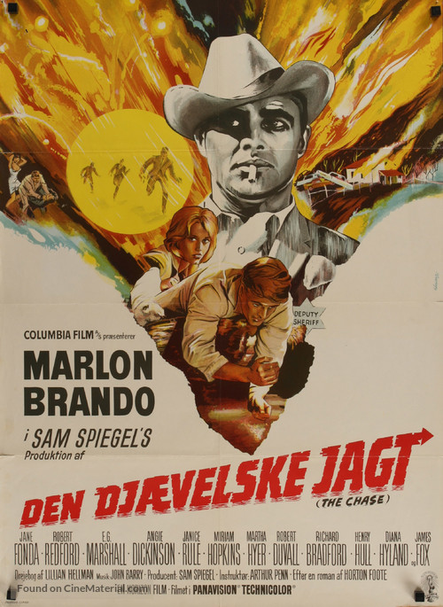 The Chase - Danish Movie Poster