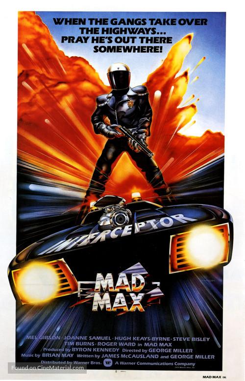 Mad Max - British Movie Poster