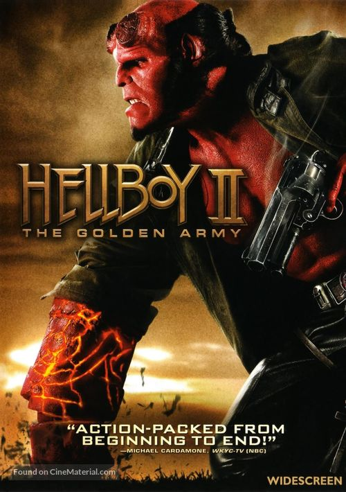 Hellboy II: The Golden Army - DVD cover