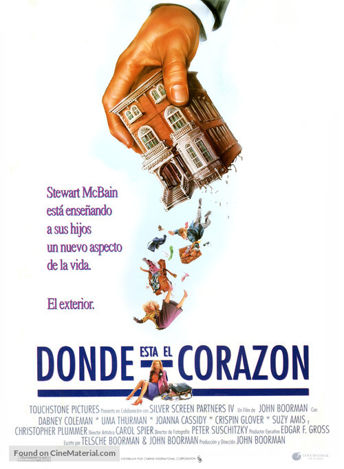 Where the Heart Is - Spanish Movie Poster