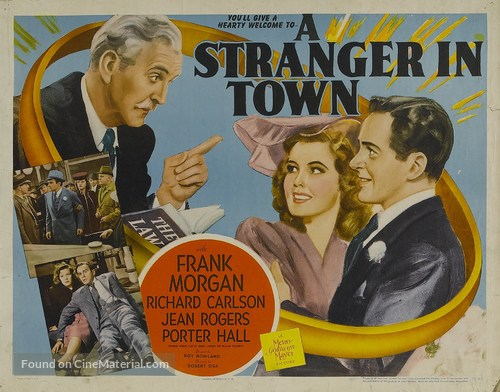 Image result for stranger in town film