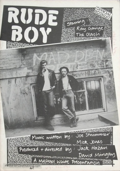 Rude Boy - British Movie Poster