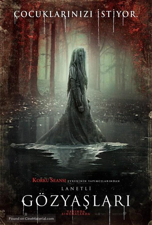 The Curse of La Llorona - Turkish Movie Poster