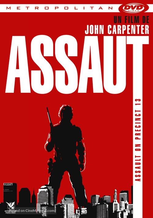 Assault on Precinct 13 - French DVD movie cover