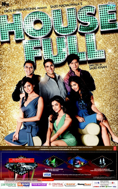 Housefull - Movie Poster