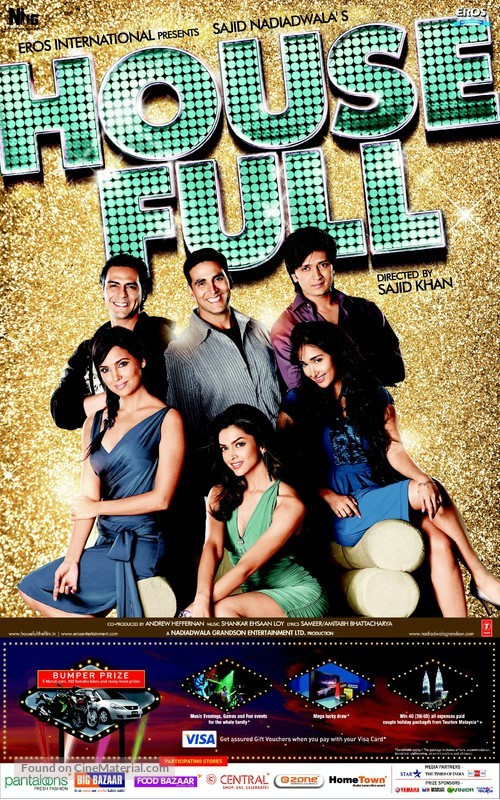 Housefull - Movie Poster