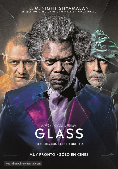 Glass - Argentinian Movie Poster