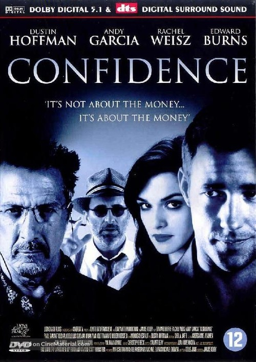 Confidence - Dutch Movie Cover