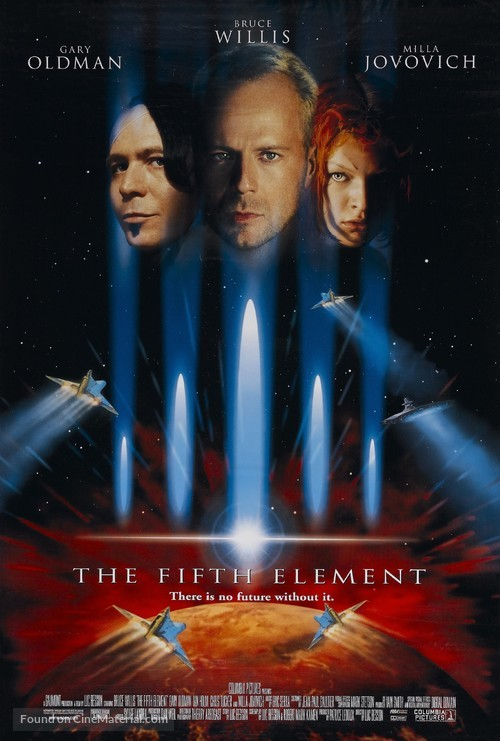 The Fifth Element - Theatrical movie poster