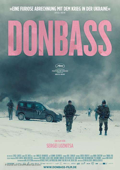Donbass - German Movie Poster