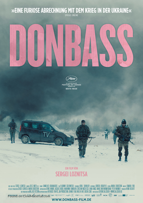 Donbass - German Movie Poster