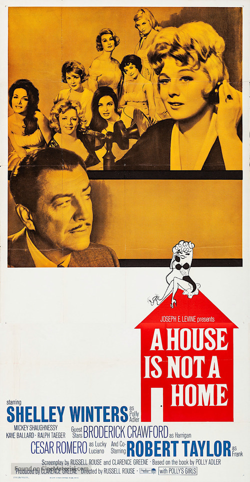 A House Is Not a Home - Movie Poster