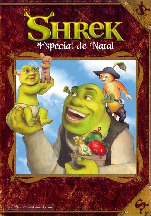 Shrek the Halls - Brazilian DVD movie cover