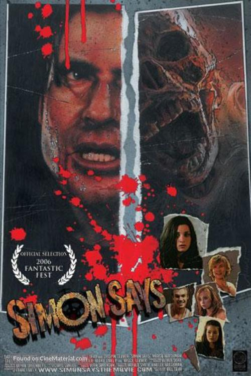 Simon Says - Movie Poster