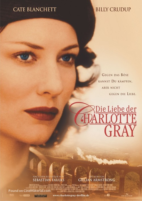 Charlotte Gray - German poster