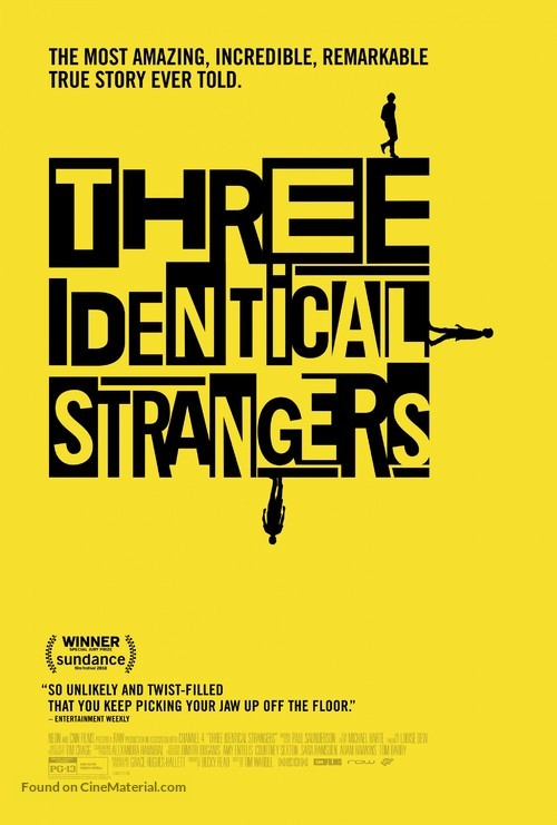 Three Identical Strangers - Movie Poster