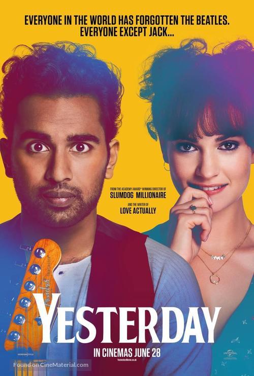Yesterday - British Movie Poster