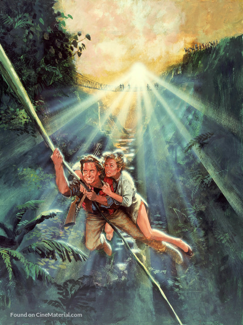 Romancing the Stone - Key art