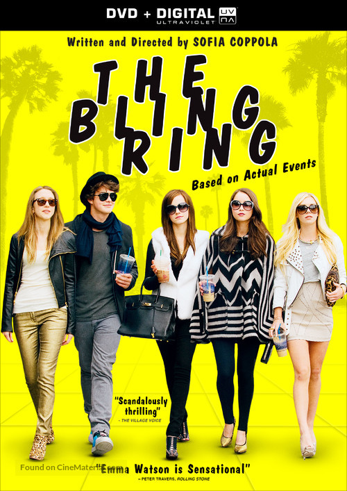 The Bling Ring - DVD cover