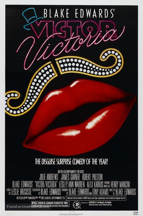 Victor/Victoria - Movie Poster