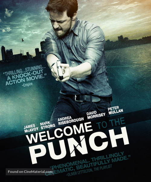 Welcome to the Punch - Movie Cover