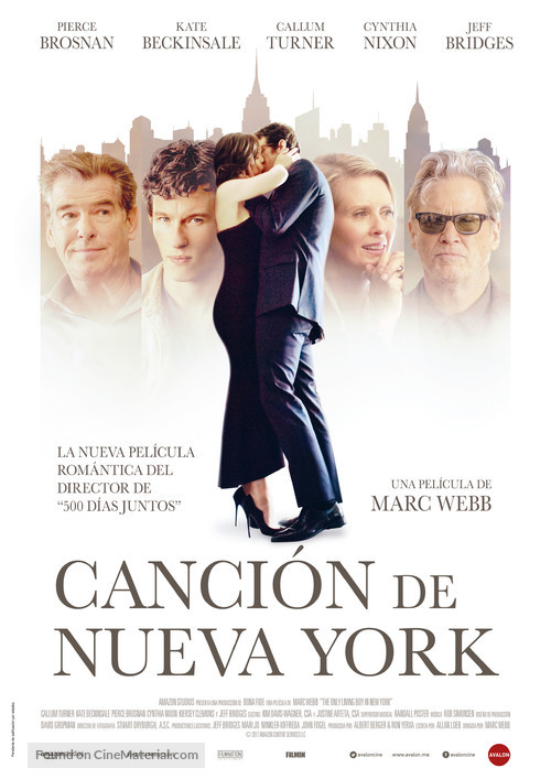 The Only Living Boy in New York - Spanish Movie Poster