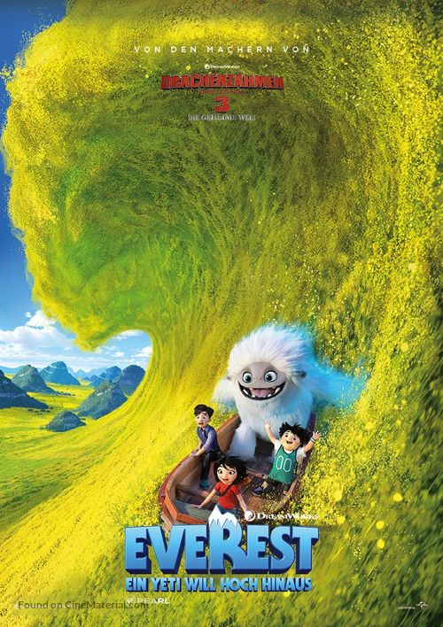 Abominable - Swiss Movie Poster