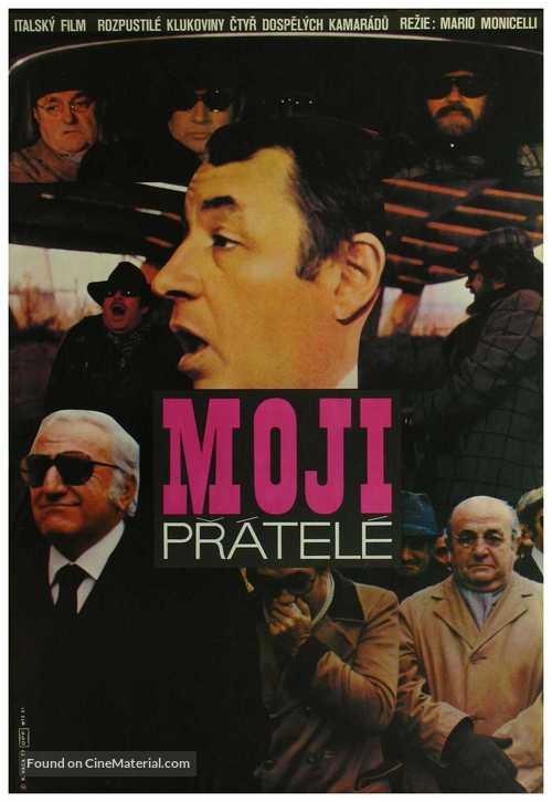 Amici miei - Czech Movie Poster