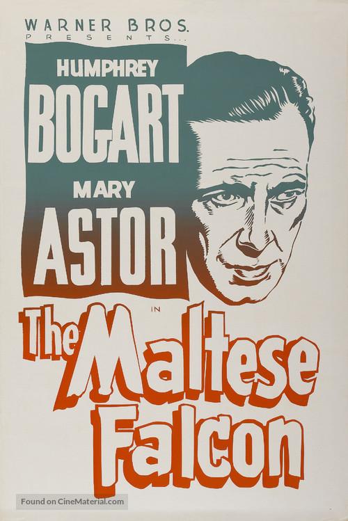The Maltese Falcon - Re-release poster
