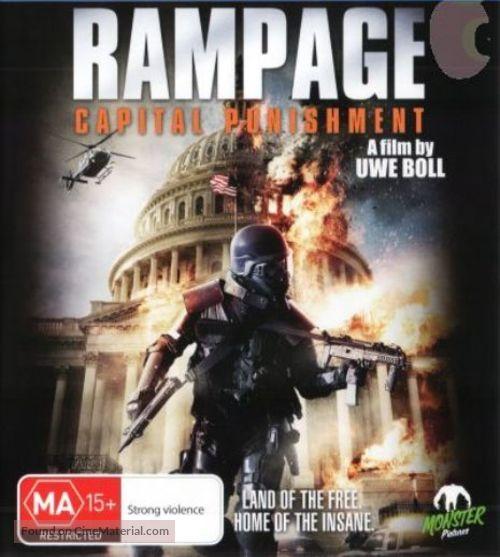 rampage capital punishment australian movie cover