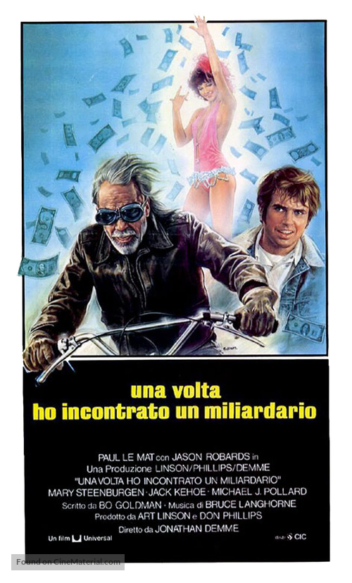 Melvin and Howard - Italian Theatrical movie poster