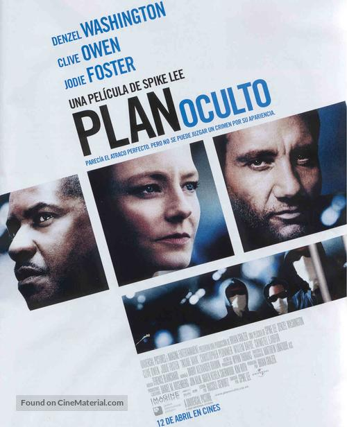 Inside Man - Spanish Movie Poster