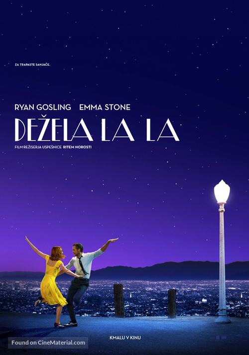 La La Land - Slovenian Movie Poster