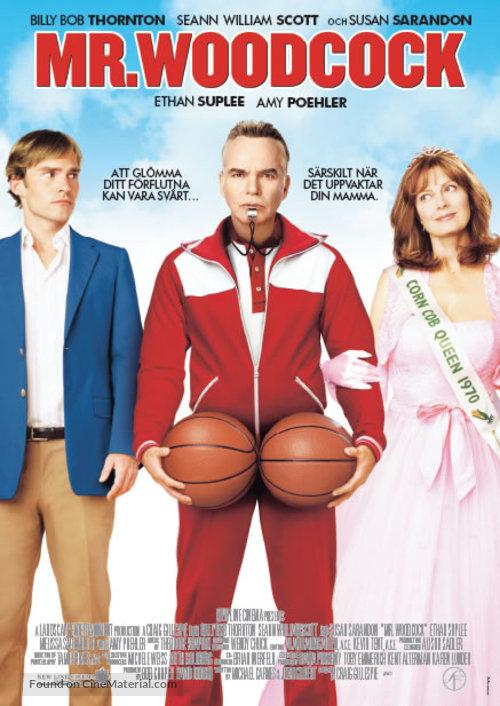 Mr. Woodcock - Swedish Movie Poster