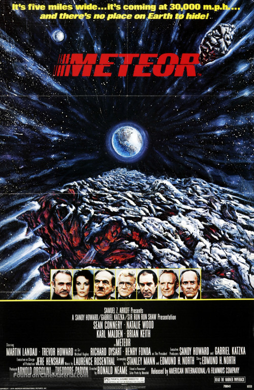 Meteor - Movie Poster